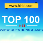 Top 100 .NET Interview Questions