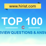 Top 100 C Interview Questions and Answers