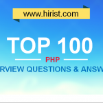 Top 100 PHP Interview Questions and Answers