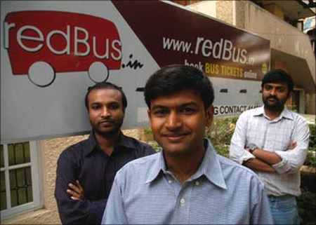 red bus founding team