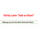 "hirist.com ""Job-a-thon"" in Bangalore!"